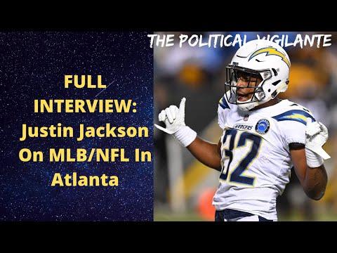FULL INTERVIEW: Justin Jackson On MLB:NFL In Atlanta