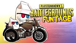 PUBG FUNTAGE! - Stunt Jumps, Sneaky Plays & More!