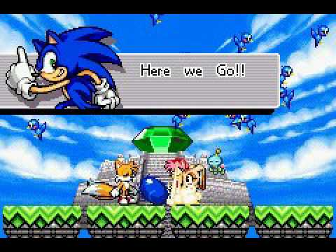 Sonic Advance 3 Multiplayer as Super Sonic Nonaggression Zone