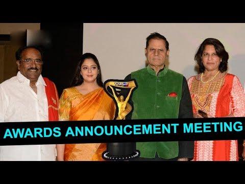 TSR TV9 National Film Awards Press Meet | Nagma | T Subbarami Reddy | Top Telugu Media