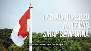 Sikap Sempurna Pengibaran Bendera HUT-RI ke-75 Tahun 2020