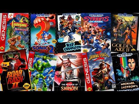 Top 300 best Sega Genesis games in chronological order, 1989 -1997