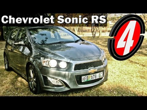 Chevrolet Sonic RS 2014 | New Car Review