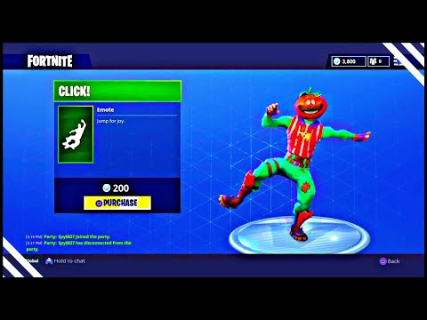 New Click EMOTE! Fortnite ITEM SHOP April 23 2018! NEW Featured items and Daily items!