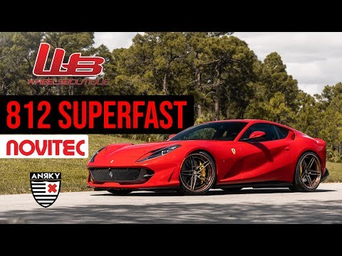 FERRARI 812 SUPERFAST GETS ANRKY WHEELS AND IPE EXHAUST BEFORE AND AFTER