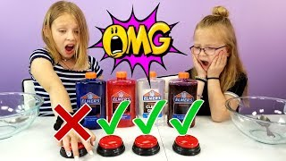 DON'T PUSH THE WRONG BUTTON Slime Challenge!!!