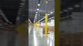 Wayfair warehouse tour
