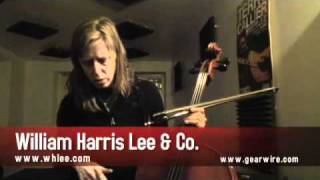 William Harris Lee  Co. Cello: Helen Money's Cello Effects Pedals