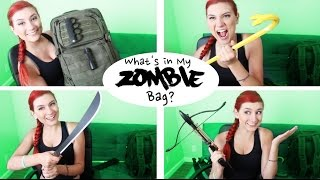 WHAT'S IN MY ZOMBIE BAG?