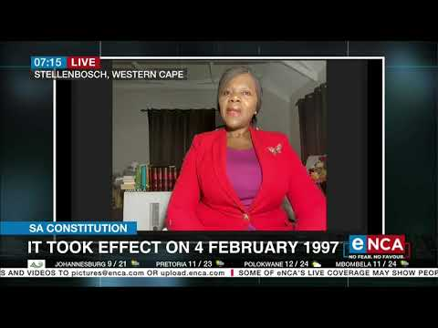 Discussion Madonsela talks on SA Constitution