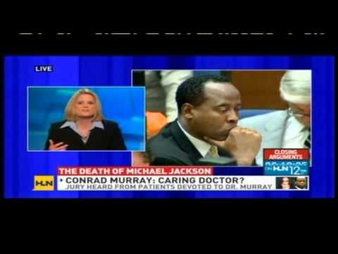 Meg Strickler on HLN discussing Conrad Murray trial and the death of Michael Jackson 11/2/11