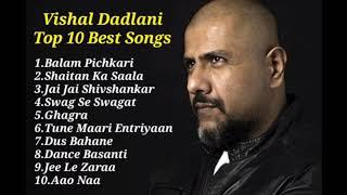 Vishal Dadlani Top 10 Songs Play List 2021 By SB Player