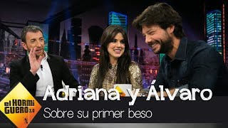 """El primer beso de Adriana Ugarte y Álvaro Morte: """"Pensé, ¿¡esto qué es?!"""" - El Hormiguero 3.0"""