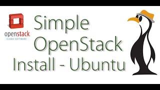 Simple OpenStack Install On Ubuntu 14 04