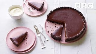 Mouthwatering Salted Chocolate Tart! | Simply Nigella - BBC