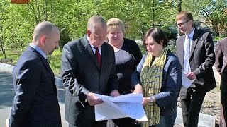 Губернатор Сергей Митин посетил стадион «Центральный» в Великом Новгороде