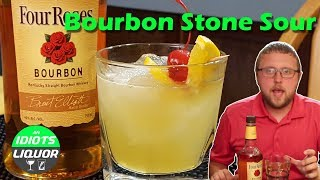 How To Make A Bourbon Stone Sour Recipe | Drinks With Bourbon Whiskey