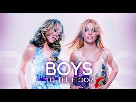 Mariah Carey, Britney Spears - Boys To The Floor