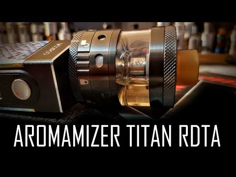 YouTube Video zu Steam Crave Aromamizer Titan Selbstwickelverdampfer 28 ml