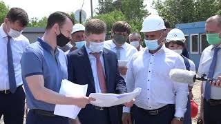 Сергей Фургал оценил ход строительства новой школы в селе Найхин Нанайского района