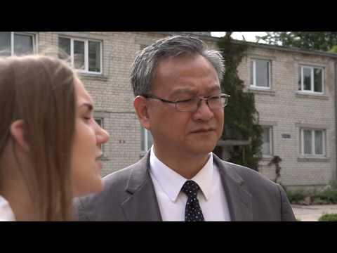 Skrundā viesojas Taipejas misijas Latvijā vadītājs