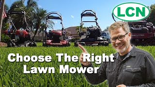 How To Choose The Right Lawn Mower For Your Yard | Lawn Mower Buying Guide 2020