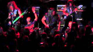 EXCITER I am the beast at Les Katacombes, Montreal Canada, May 31th, 2012