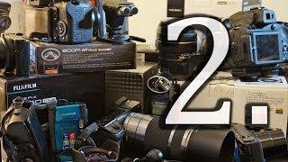 Как выбрать лучший фотоаппарат 2 типы камер