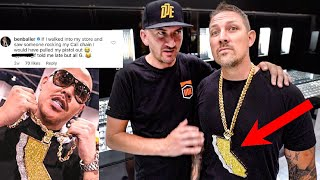 """SHOTS FIRED"" OVER $600,000 DIAMOND CHAIN! * BEN BALLER*"