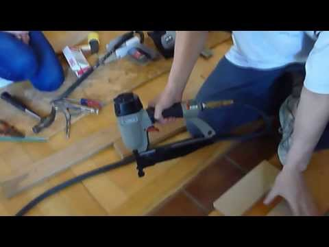 Hardwood Floor Part 2, how to install
