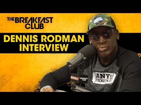 Dennis Rodman Opens Up About His Bad Boy Image, Madonna, Donald Trump, Locker Room Stories + More
