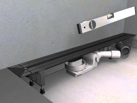Douchegoot Viega Advantix Vario Renovatie Van 30-120cm Traploos Inkortbaar
