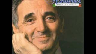 Charles Aznavour    -    Le Barche Sono Fuori   ( Les Bateaux Sont Partis )