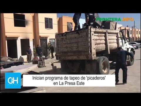 Inician programa de tapeo de picaderos en La Presa Este