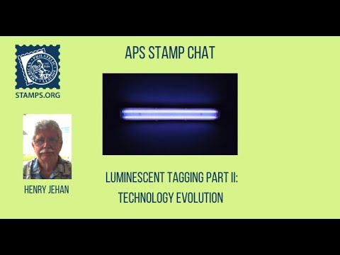 APS Stamp Chat: Luminiscent Tagging Part II with Mr. Henry Jehan