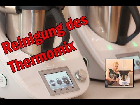 Schnelle Reinigung des Thermomix