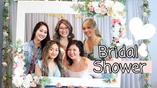MY BRIDAL SHOWER PARTY 2020 | Romantic Floral Theme | Heyitsjenn.