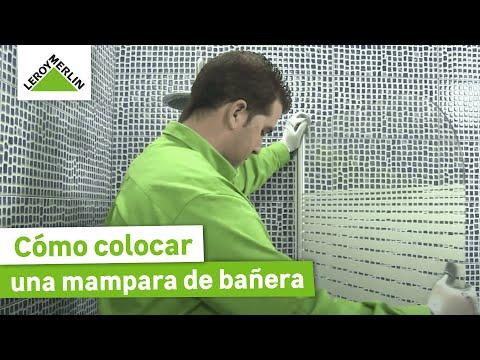 Cómo colocar una mampara de bañera (Leroy Merlin)