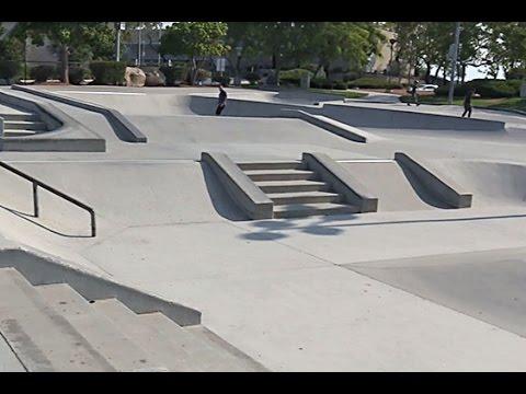 SD Skateboard Longboard Race Club visits Carlsbad Skate Park on Orion.