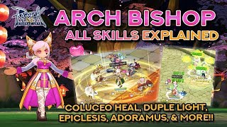 Download ARCH BISHOP SKILLS DEMO + EXPLANATION | Ragnarok