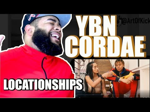 {{ REACTION }} YBN Cordae - Locationships [Official Video]