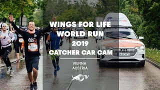 Catcher Car Cam In Vienna, Austria | Wings For Life World Run 2019