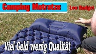 Top oder Schrott ?? WEINAS Camping - Strand Matratze - meine ehrliche Meinung