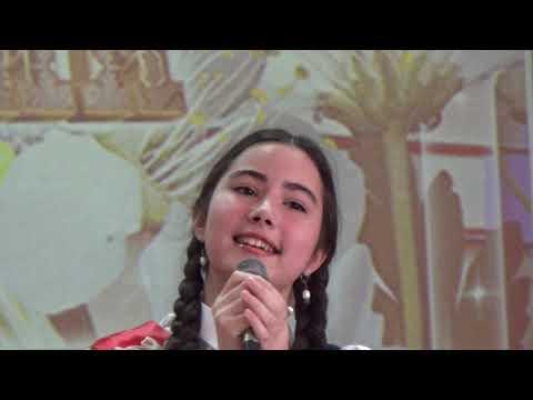 , title : 'Mini miss Ailin Video for kids. Поет Саида Мухаметзянова, Последний звонок нашей старшей дочери'