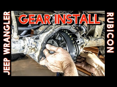 How to Install Gears in a Jeep Wrangler Rubicon Dana 44 (Detailed!)