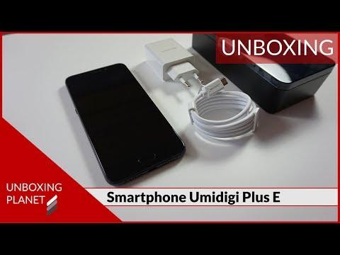 Unboxing Smartphone Umidigi Plus E