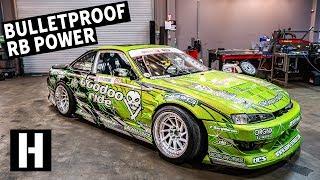 Bulletproof 600hp RB25-Powered S14: Ryan Litteral's Rowdy Drift Car