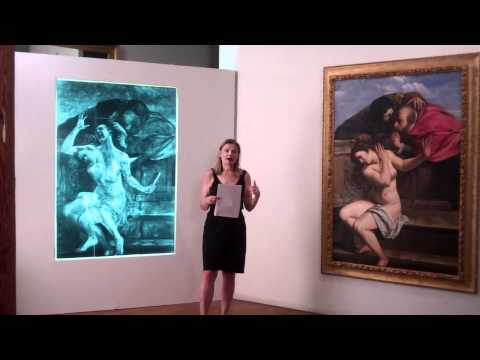 Susanna and the Elders, Restored by artist Kathleen Gilje