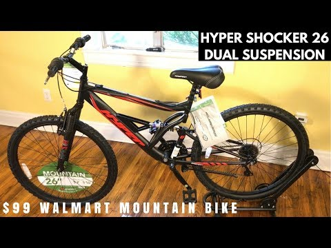 Hyper Shocker 26 Mountain bike from Walmart – Feature overview and potential issues