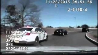 Dashcam video of wild police chase in N.J.